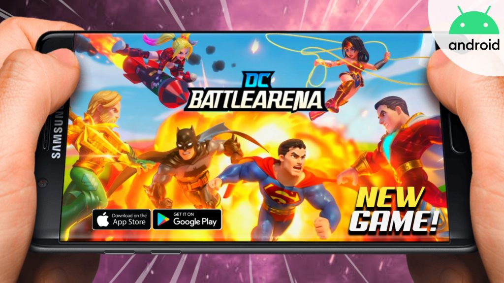 DC Battle Arena - Android/iOS New Superhero Games | Best Graphic
