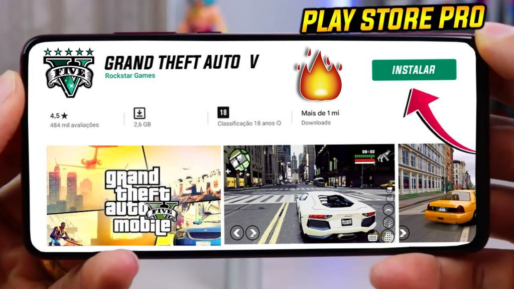 GTA 5 Mobile BETA APK - With Mission GTA V Download For Android