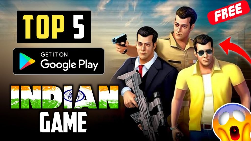 Top 5 INDIAN Games - Made In India High Graphic [Offline+Online]