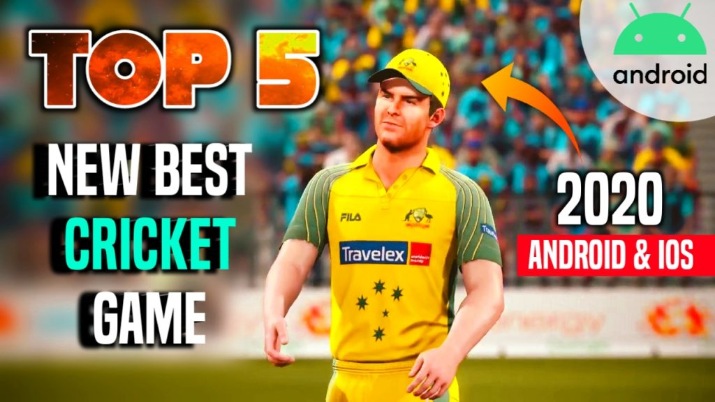 TOP 5 NEW Cricket Game For Android & iOS in 2020 Ultra Realistic Graphics