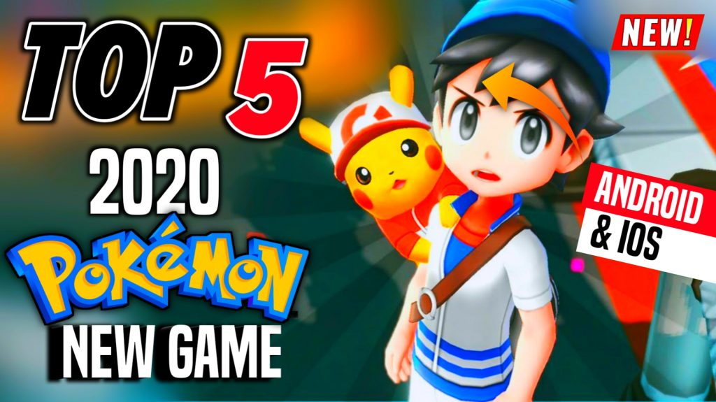 Top 5 NEW Best 3D Pokemon Game [English] for Android & iOS in 2020