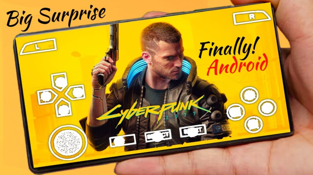 Cyberpunk 2077 Clone On Android Playstore