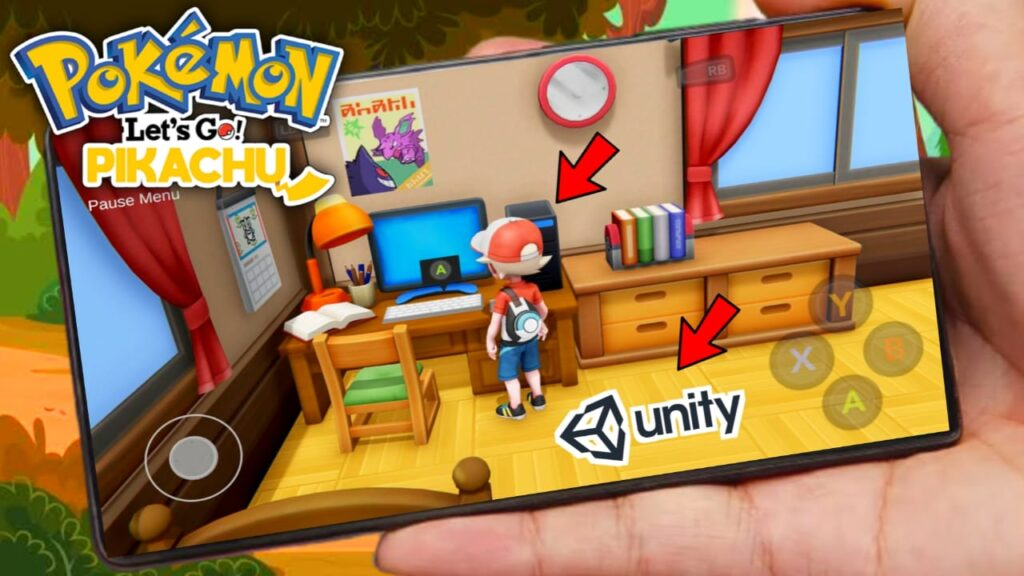 Pokemon Let's Go Unity BETA APK Download For Android Early Access