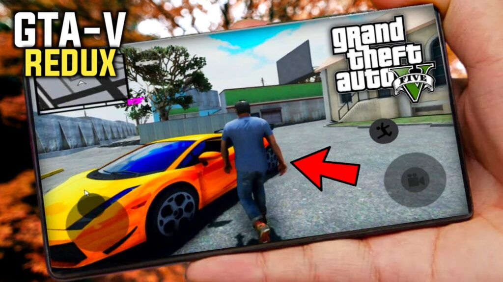 GTA 5 REDUX Apk For Android Device | GTA V Mobile Version High Graphics