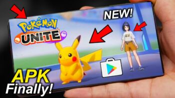 Pokemon Unite Apk Obb Data For Android Download Latest Version