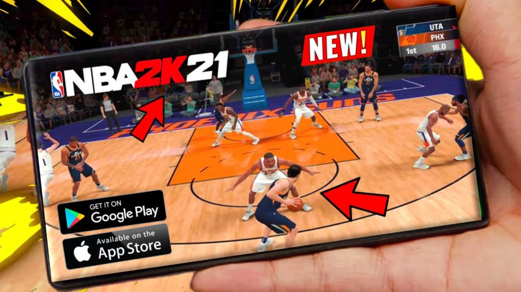 NBA 2k21 Arcade Edition For Android APK Download & iOS Mobile