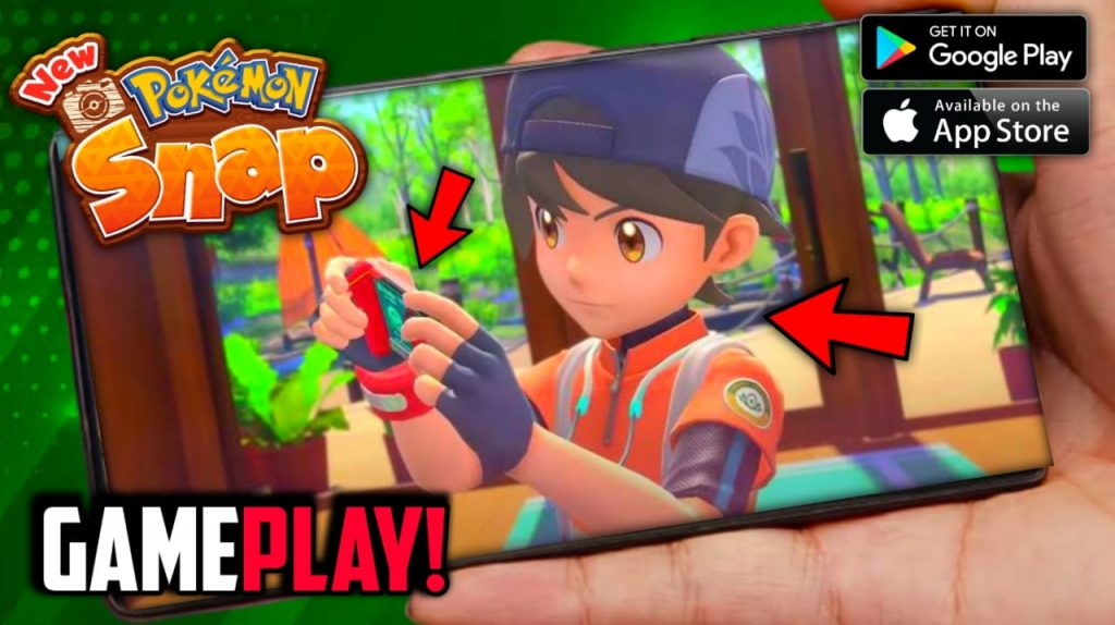 New Pokemon Snap Game On Android & iOS - Gameplay New Features