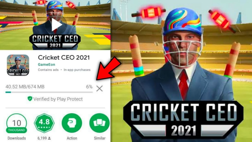 Cricket CEO 2021 APK Download For Android & iOS | New Cricket Game