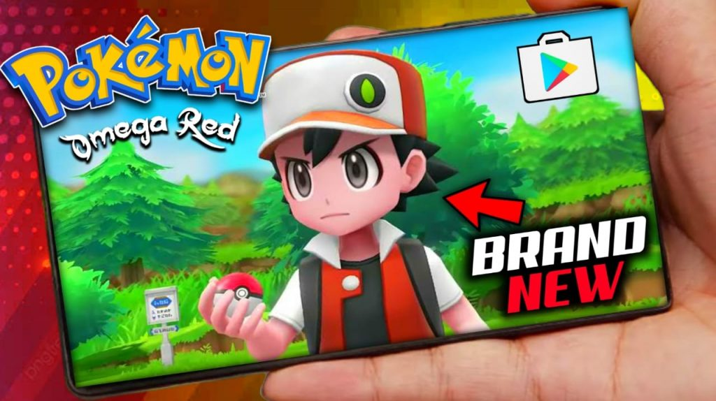Pokemon Omega Red For Android [Brand New] Pokemon Game Download